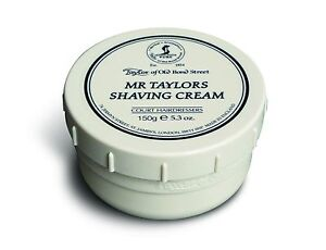 Taylor of old Bond Street Shaving Cream Mr Taylor's Luxury England