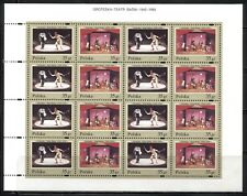 Theater, Fairy Tales On Poland 1995 Scott 3239a-3241a, 2 Sheets - 8 Sets, Mnh