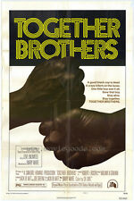 TOGETHER BROTHERS Movie POSTER 27x40 B Ahmad Nurradin Anthony Wilson Nelson Sims