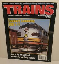 Trains Magazine - August 1996