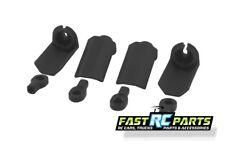 RPM R/C Products Shock Shaft Guard Black Tra (4) RPM80402