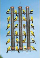 New listing Songbird Essentials Finches Favorite 3 Tube Bird Feeder