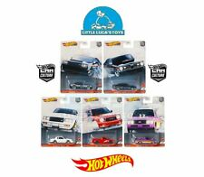 Hot Wheels Car Culture Power Trip Complete Set 1-5