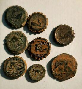 DEMETRIOS I Soter RARE Ancient Seleukid Greek Coin ELEPHANT #5