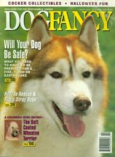 1993 Dog Fancy Magazine: Soft Coated Wheaten Terrier/Rescue & Place Stray Dogs