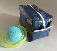 Dummy/Soother Case-Holder Handmade in Cowboys and Indians oilcloth