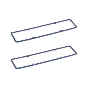 """Small Block Chevy SBC 305 350 Fabricated Valve Cover Gaskets 3/16"""" Rubber MOR"""