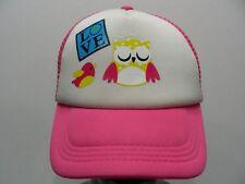 Love Logo con Pájaros y Búho - Talla Única Snapback Ajustable Gorra Sombrero