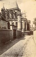 France, Compiègne, Abside de l'Église Saint-Antoine, ca.1880, vintage album