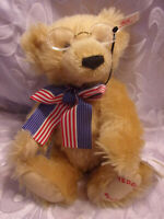 Steiff Teddy Bears Teddy's Bear #7191 Plush Jointed Soft Toy Stuffed Animal 12""