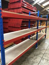2 Bays Warehouse Racking Shelving Pallet Style by VPM Racking Free Delivery