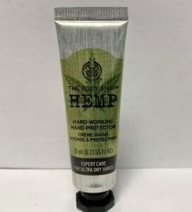 The Body Shop Hard-Working Hemp Hand Protector Cream 10ml