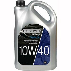 A1 Technolube 10W40 Semi Synthetic Oil - 5 litre UK SELLER