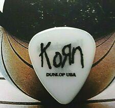 KORN 2002 Untouchables Tour clear black guitar pick