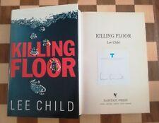 Killing Floor SIGNED Lee Child Hardback 1st edition 1st impression Jack Reacher