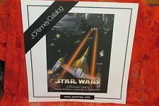 Rare Star Wars 1999 JC Penney Catalog Light board Promo Plastic Poster, Naboo