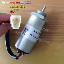 12V Fuel Shut off Stop Solenoid for Hitachi MV1-18 EX40U EX55 EX58 ZX40U ZX50U