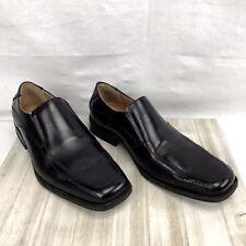 Jose Men US 9 Black Moc Loafer