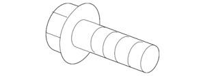 Genuine GM Stabilizer Link Bolt 11588744