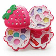 Strawberry Girls Princess Pretend Makeup Set Make Up Kid Simulation Children Toy