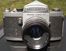 Miranda F 1963 early version #685285 w/ Soligor 5cm/1.9 Sony Canon Nikon Pentax