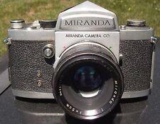 Miranda F 1963 early version #685285 w/ Soligor 5cm/1.9 Sony Canon Nikon Pentax