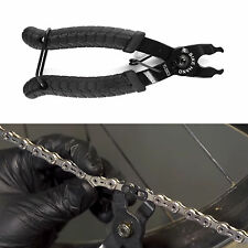 Missing Link Remover Plier Chain Tool Bike Bicycle Chain Master Opener Black
