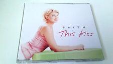 "FAITH HILL ""THIS KISS"" CD SINGLE 3 TRACKS COMO NUEVO"