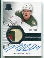2016-17 Mike Reilly UD THE CUP #156 3-COLOR PATCH AUTO RC /249 ROOKIE