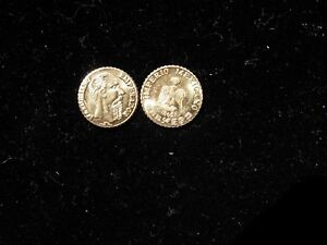 100 MINIATURE GOLD COINS 1865 MAXIMILIAN PESO REPLICA PARTY Favors BIRTHDAY