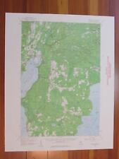 Rapid River Michigan 1960 Original Vintage USGS Topo Map