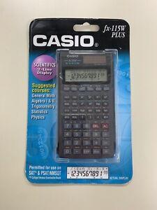 Casio FX-115W S-V.P.A.M. Plus Scientific Calculator Two Way Power (Sealed)