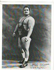 WEIGHTLIFTING Weightlifter Strongman DOUG HEPBURN Bodybuilding Photo B&W signed