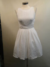 New Soprano Juniors Pleated Skate Dress D20143CF /White /Small.