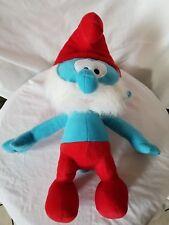 Papa Smurf 17 Inch Stuffed Animal Toy