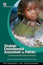 Environment and Sustainable Development: Strategic Environment Assessment for...