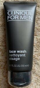 Clinique For Men Face Wash 6.7 Oz/200ml-sealed