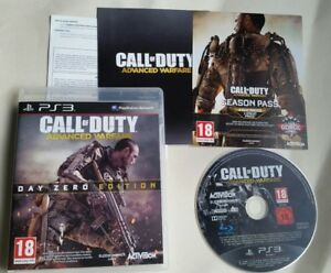 PS3 PLAYSTATION 3 GAME  CALL OF DUTY ADVANCED WARFARE DAY ZERO EDITION VGC  (1)