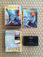Turrican II by Rainbow Arts x Commodore 64/128. RARA Edizione italiana. 1988.