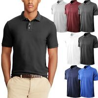 Mens Polo Shirts Jersey Casual Golf Premium Sports S 3XL Dry Comfort Big Size