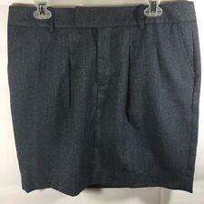 NWOTs Gap Skirt Women's Sz 4 Brown OR Gray Lined Wool Blend  Above Knee Pockets