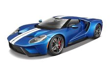 Maisto Diecast Model - Blue 2017 Ford GT Car - 1:18 Scale - 31384 -