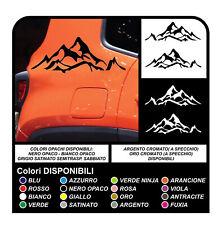 adesivi Laterali Renegade montagna sticker decal aufkleber nuova jeep renegade
