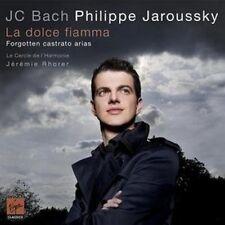 Philippe Jaroussky - J.C. Bach La Dolce Fiamma - Forgotten Castrato Ari (NEW CD)