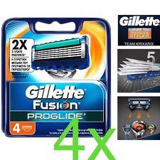 4 TESTINE Gillette Fusion ProGlide Ricarica d 5 Lame più Sottili adatto Flexball