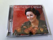 """MONTSERRAT CABALLE """"MUSICA ESPAÑOLA PARA PIANO Y VOZ DEL SIGLO XIX"""" CD 13 TRACKS"""