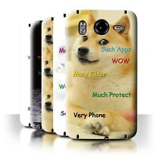STUFF4 Back Case/Cover/Skin for HTC Desire HD/G10/Funny Shibe Doge Meme