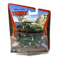 Nigel Gearsley #20 Disney Pixar Cars 2 Diecast Toy Car MOC New Mattel