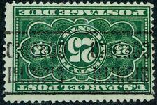 US 1913 EFO #JQ5 Upside Down Precancel Chicago 25c Parcel Post Postage Due Used