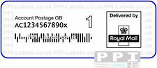 1000 x 1st Class NEW ROYAL MAIL 1C BARCODE Labels on Rolls UNA-1ST-ROLL 70x40